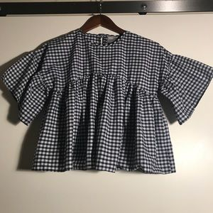 Asos Gingham Blouse